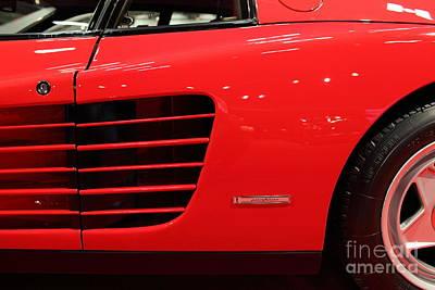 Photograph - 1986 Ferrari Testarossa - 5d19882 by Home Decor