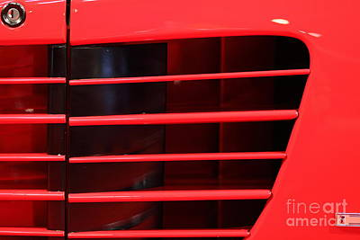Photograph - 1986 Ferrari Testarossa - 5d20024 by Home Decor