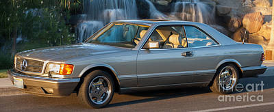 Photograph - 1986 Mercedes 560 Sec by Gunter Nezhoda