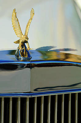 Hoodies Photograph - 1986 Zimmer Golden Spirit Hood Ornament 2 by Jill Reger
