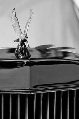 Best Stock Photograph - 1986 Zimmer Golden Spirit Hood Ornament 4 by Jill Reger