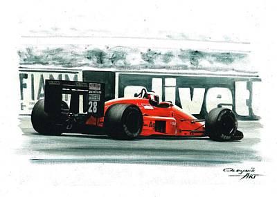 1987  Ferrari F1-87 Original by Artem Oleynik