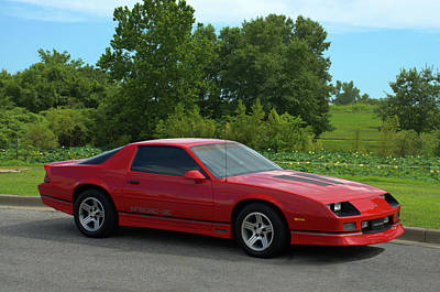 Photograph - 1989 Camaro Iroc by Tim McCullough