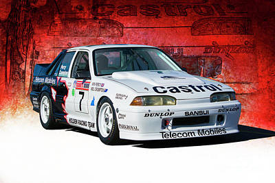 Photograph - 1989 Vl Commodore Walkinshaw by Stuart Row