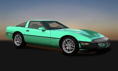 Photograph - 1990 C4 Chevrolet Corvette  -  1990corvette173288 by Frank J Benz