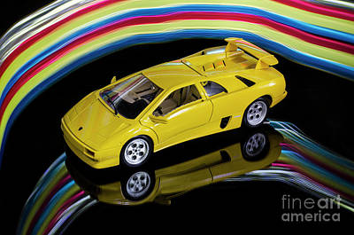 Photograph - 1990 Lamborghini Diablo by Bob Christopher