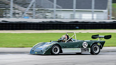 Photograph - 1990 Lola T90/90 by Randy Scherkenbach
