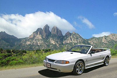 Photograph - 1997 S V T Mustang Cobra by Jack Pumphrey