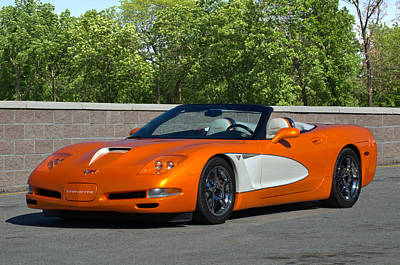 Photograph - 1998 Corvette Concept 60 by Tim McCullough