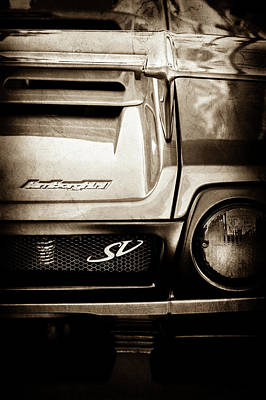 Photograph - 1998 Lamborghini Diablo Roadster Monterey Sv Edition Taillight -0278s by Jill Reger