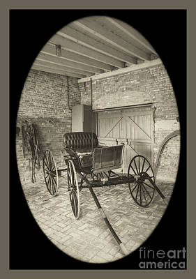 Photograph - 19th Century Carriage by Imagery by Charly