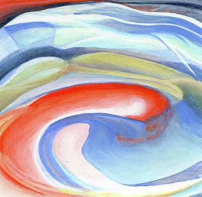 Painting - 1er Tourbillon by Muriel Dolemieux