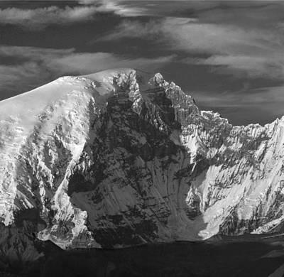 Photograph - 1m1734 A Mt. Sanford Alaska by Ed  Cooper Photography