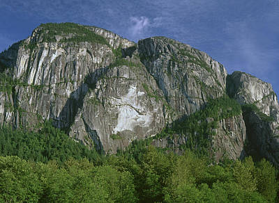 Photograph - 1m2913 Zodiac Wall Stawamus Chief by Ed Cooper Photography