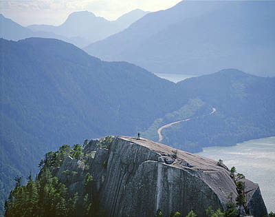 Photograph - 1m2918 South Summit Stawamus Chief From Second Summit by Ed Cooper Photography