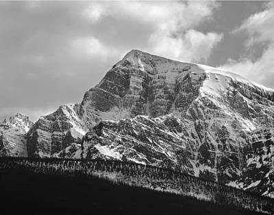 Photograph - 1m3349 Bw-storm Mountain  by Ed  Cooper Photography
