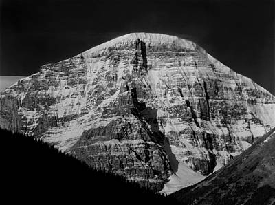 Photograph - 1m3730 Bw Stutfield Peak by Ed Cooper Photography