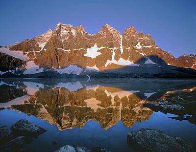 Photograph - 1m3855 B Eastern Ramparts Sunrise Reflect by Ed  Cooper Photography