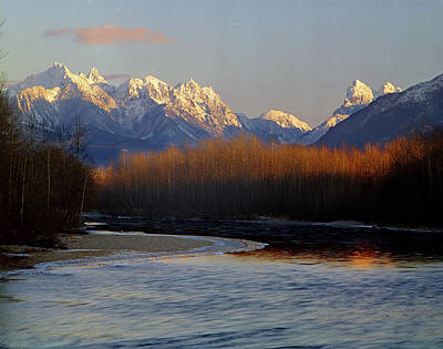 Photograph - 1m4525 Skykomish River And West Central Cascade Mountains by Ed Cooper Photography