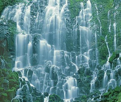 Photograph - 1m5145 E Ramona Falls by Ed Cooper Photography