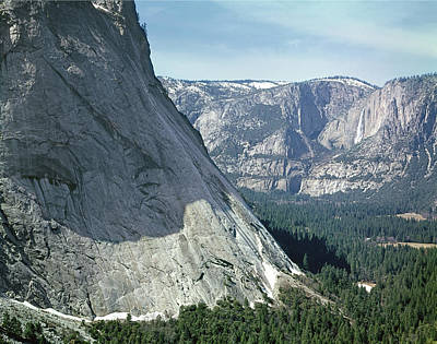 Photograph - 1m6739 Glacier Point Apron And Yosemite Falls by Ed Cooper Photography