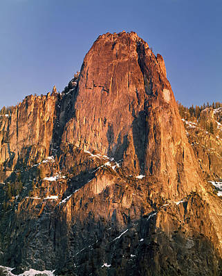 Photograph - 1m6760 Sunset On Sentinel Rock by Ed Cooper Photography