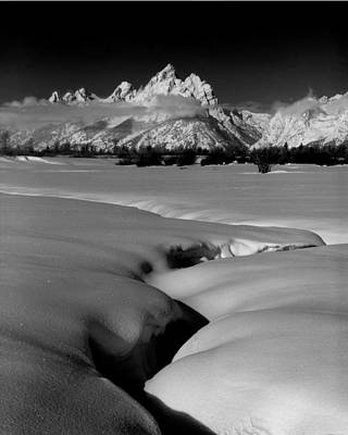 Photograph - 1m9303 Bwtetons Seen From Jackson Hole by Ed Cooper Photography