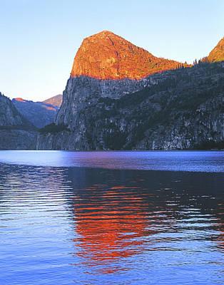 Photograph - 1n6317 Sunset On Kolana Rock Yosemite by Ed Cooper Photography
