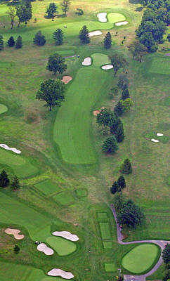 Photograph - 1st Hole Sunnybrook Golf Club 398 Stenton Avenue Plymouth Meeting Pa 19462 1243 by Duncan Pearson