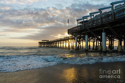 Photograph - 1st Sunrise 2017 Cocoa Beach by Jennifer White