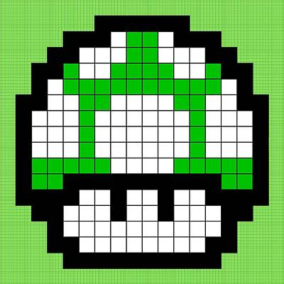 1up Art Print by Anthony Evans