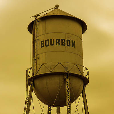 Photograph - 1x1 Bourbon Tower Yesteryear Art by Gregory Ballos