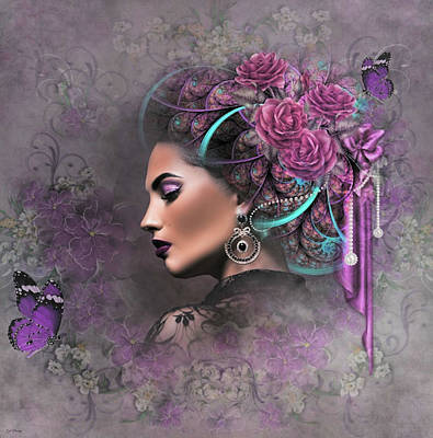 Erotica Mixed Media - You Never Said Goodbye by G Berry