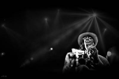 Photograph -  Jazzman Archie Shepp  by Jean Francois Gil