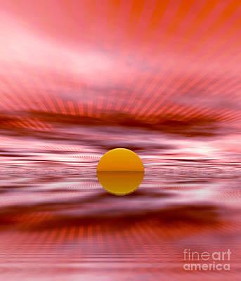 Sun Art Print by Odon Czintos