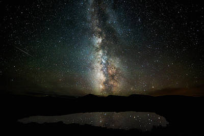 Photograph - 2 1/2 Mile High Milky Way by Darren White