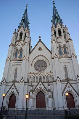 Photograph - Cathedral Of St. John The Baptist by Laurie Perry