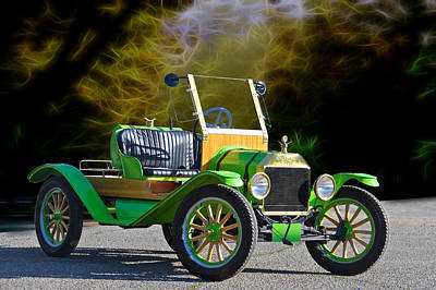 Graduation Hats - 1914 Ford Model T Speedster by Dave Koontz