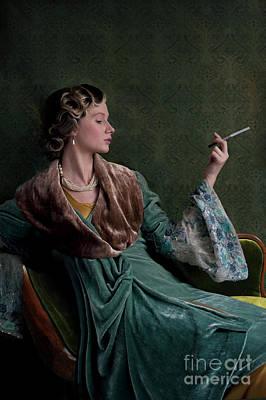 Photograph - 1920s Woman  by Lee Avison