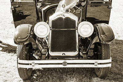 Photograph - 1924 Buick Duchess Antique Vintage Photograph Fine Art Prints 112 by M K  Miller
