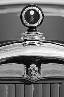 Hoodies Photograph - 1926 Cadillac Series 314 Custom Hood Ornament by Jill Reger