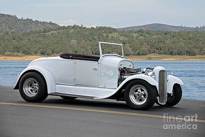Wilderness Camping - 1929 Ford Roadster by Dave Koontz