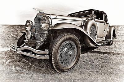 Featured Photograph - 1930 Duesenberg Model J by Marcia Colelli