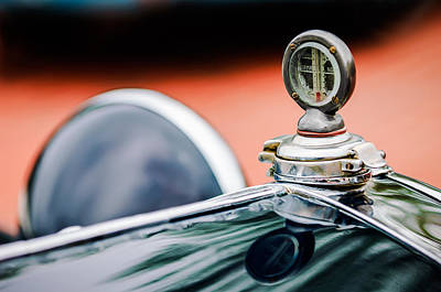 Photograph - 1932 Alfa-romeo Hood Ornament by Jill Reger
