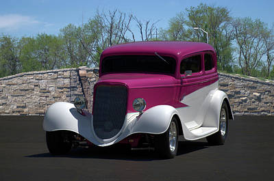 Photograph - 1933 Ford Vicky by TeeMack