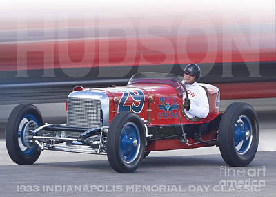 Photograph - 1933 Martz Special by Ed Dooley