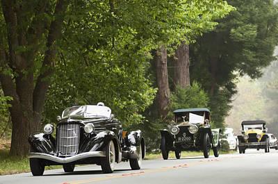 Auburn Photograph - 1936 Auburn 852 Supercharged Speedster  by Jill Reger