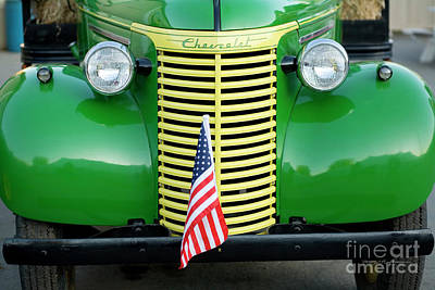 Chevrolet Truck Photograph - 1939 Chevrolet Truck by George Robinson