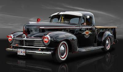 Photograph - 1947 Hudson Big Boy Pickup by Frank J Benz