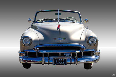 1949 Chevrolet Convertible Art Print